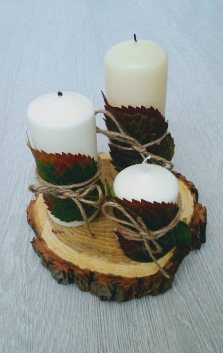dekoracyjne świece