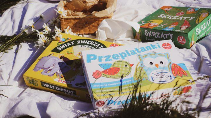 Read more about the article Nasz sposób nawspólne chwile – gry planszowe dla dzieci odKukuryku!
