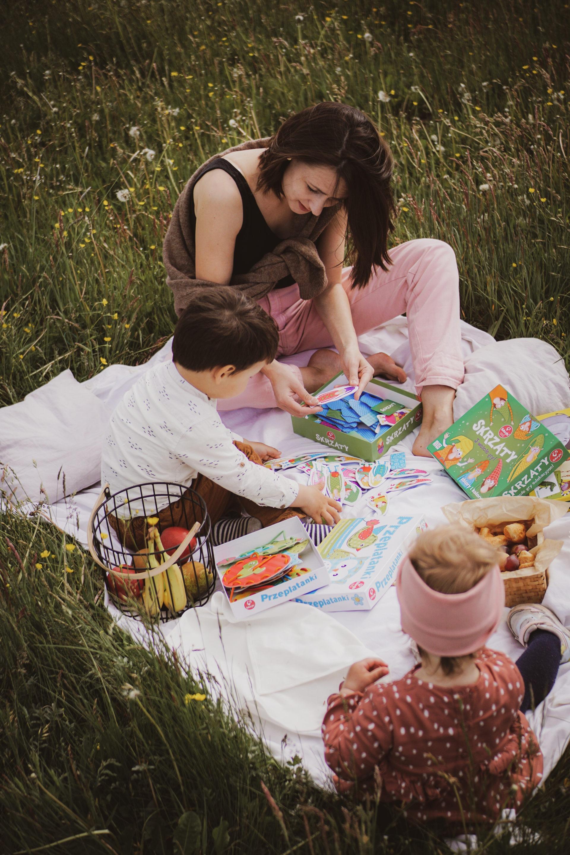 piknik zgrami planszowymi