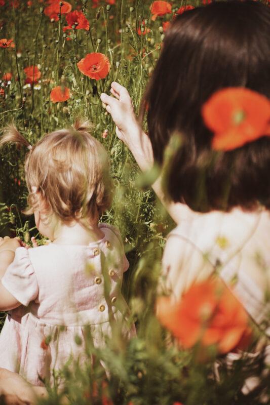 maki, muzyka wśród kwiatów