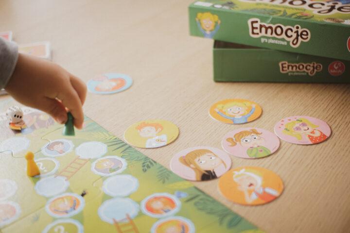 gra planszowa emocje dla dzieci
