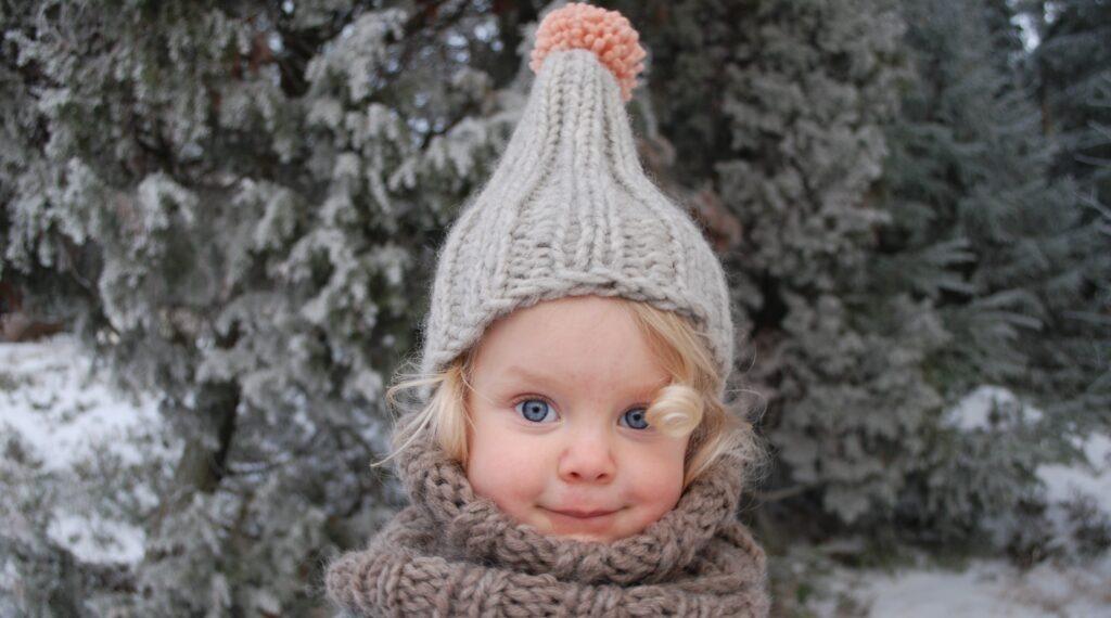 czapka dla dzieci myssyfarmi